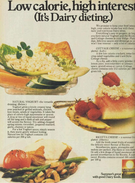 bite sized thoughts australian food through the years