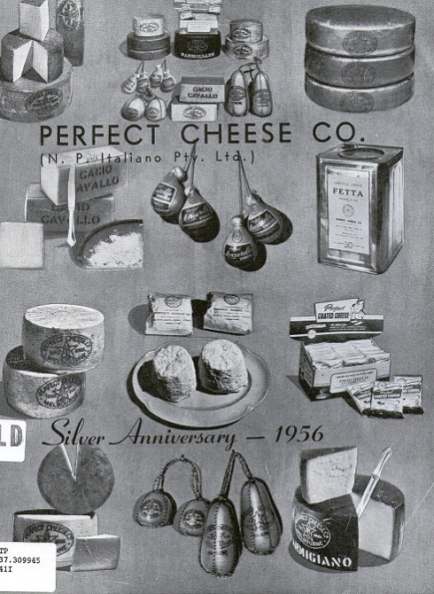 Perfect Cheese Co Souvenir Booklet