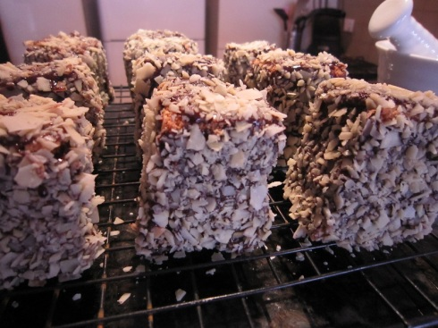 Italian lamingtons