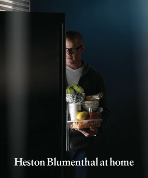 Heston Blumenthal at Home book cover