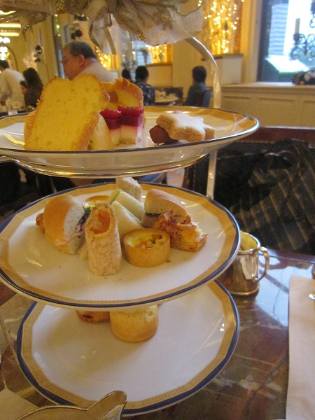 Afternoon tea at the Peninsula Hotel Hong Kong