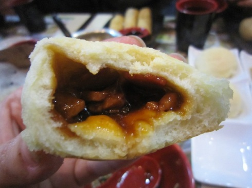 Barbecue pork bun at Tim Ho Wan Mong Kok
