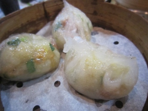 Steamed dumplings at Tim Ho Wan Mong Kok