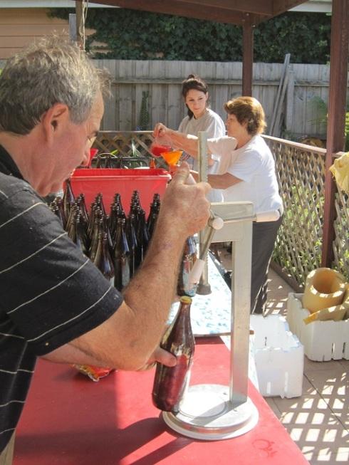 Sealing bottles