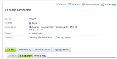 La Cucina Continentale