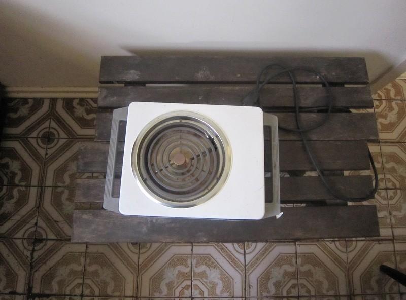 Make-shift stove